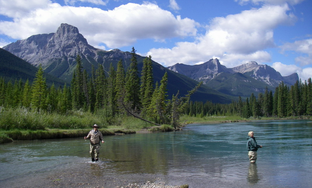 banff fly fishing trips