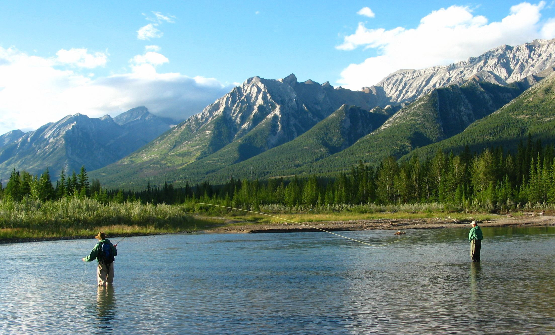 Banff weather facts for Canada fishing guide